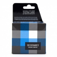 SIR RICHARD'S EXTRA LARGE TRANSPARENT CONDOMS