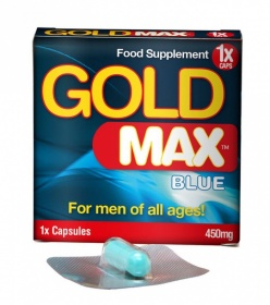 Gold Max Blue 1 x 450mg capsule