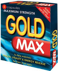 Gold Max Blue 5 x 450mg Pack