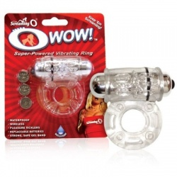 SCREAMING O WOW VIBRATING RING