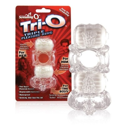 SCREAMING O TRI-O VIBRATING RING